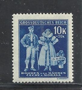 Bohemia & Moravia #B24 mnh cv $.25