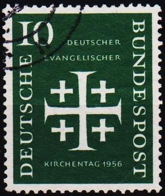 Germany. 1956 10pf S.G.1161 Fine Used