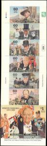 2000 Marshall Island #746a, Complete Set, Unexploded Booklet, Never Hinged