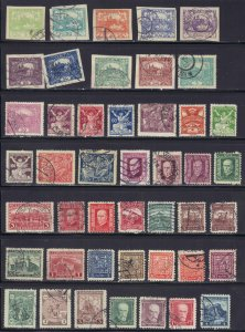 Czechoslovakia collection of 296 Used issues some duplication - 7 scans