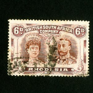 Rhodesia Stamps # 108 VF Used Catalog Value $25.00