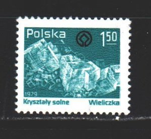 Poland. 1979. 2639 from the series. Salt mining. MNH.