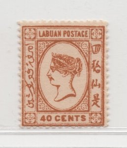 Malaya Labuan - 1894 - SG57 - 40c - MH #682