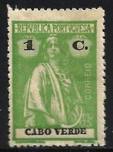 Cape Verde 1914 Scott# 146 MNG