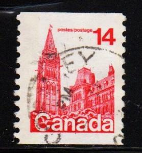 Canada - #730 Parliament Coil  - Used