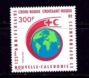 New Caledonia 575 MNH 1988 Red Cross