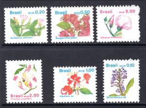 Brazil 2176-2178 Flowers MNH VF