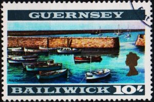 Guernsey. 1969 10s S.G.27 Fine Used