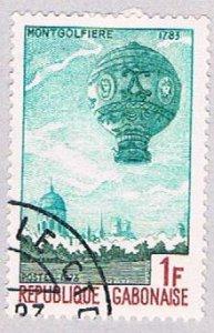 Gabon Balloon 1f - pickastamp (AP103604)