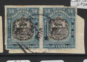 North Borneo SG 179 Pair CDS VFU (2dvp)