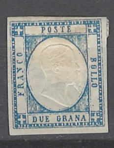 COLLECTION LOT # 2101 TWO SICILES #22 MH 1861 CV=$145