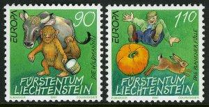 Liechtenstein 1097-1098,MNH.Michel 1145-1146. EUROPE CEPT-1997.Myths:Wild Gnomes