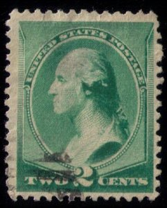US SCOTT #213 USED VERY FINE
