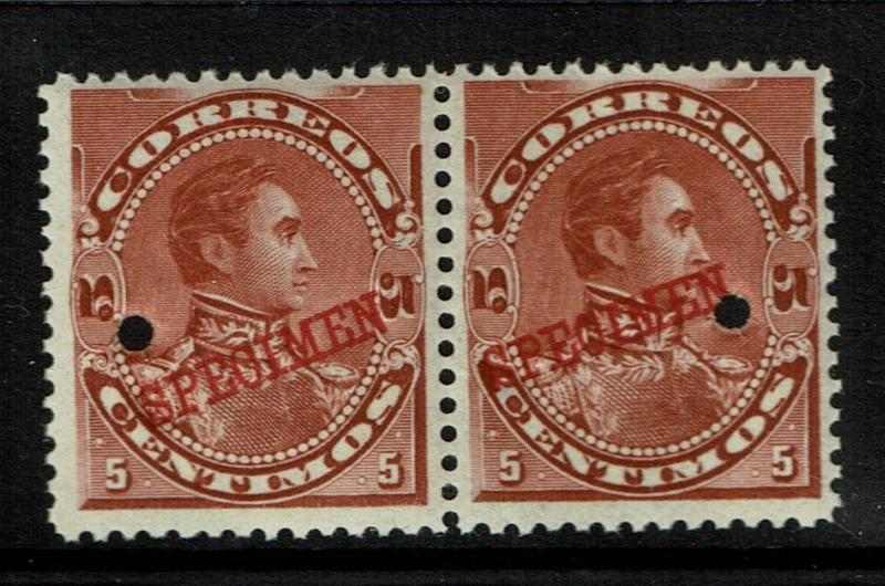 Venezuela 1893 5c red brown Specimen, Mint Never Hinged - S1426