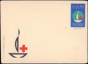 Poland, Red Cross, Postal Stationery