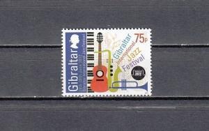 Gibraltar, 2012 issue. Jazz Festival value.