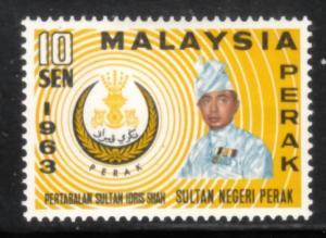 Malaya Perak 1963 Sc 138 Idris Shah MLH