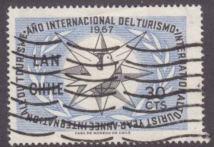 Chile C278 International Tourist Year 1967