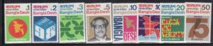 Bangladesh 1-8 Mint NH (LB)