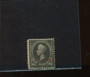 Guam Scott 13 Type II Overprint Mint Stamp with PF Cert (Stock Guam 13-PF3)