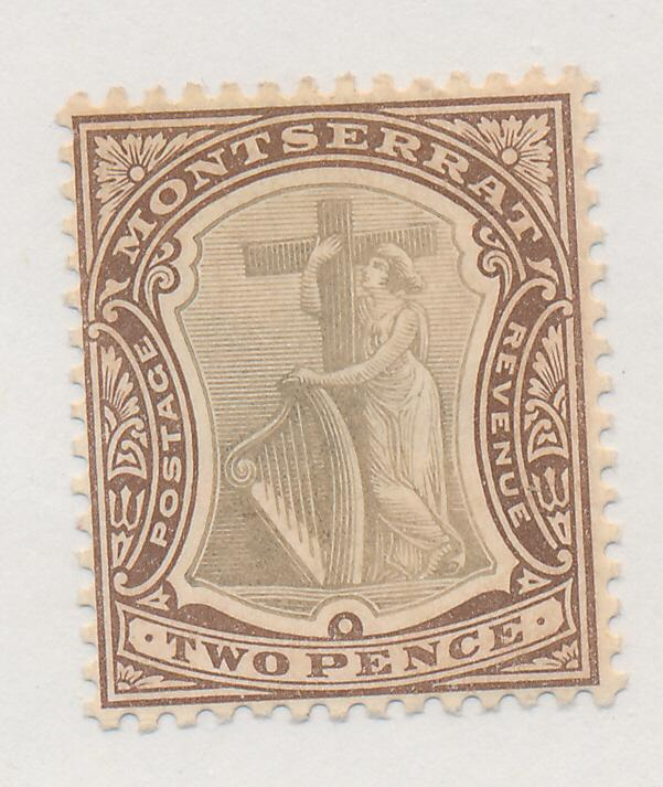 Montserrat Stamp Scott #14, Mint Hinged - Free U.S. Shipping, Free Worldwide ...