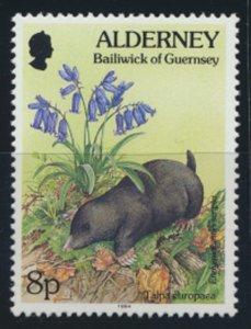GB Alderney  SG A67 MNH  8p Mole  1994 SC# 77 See scan