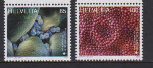 2020 Switzerland Microscopic Art  (2) (Scott 1759-60) MNH