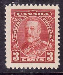 Canada-Sc#219-Unused NH 3c KGV-Pictorial-1935-