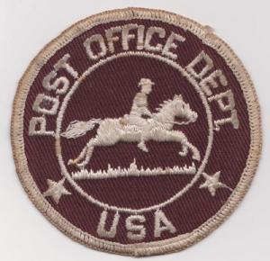 Post Office Dept Patch - USED - shows signs of wear