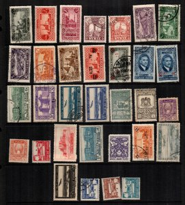 Syria  31  diff used and mint lot collection