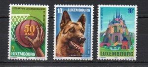 Luxembourg 697-699 MNH