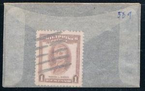 Philippines 589 Used Quezon 1952 (P0200)