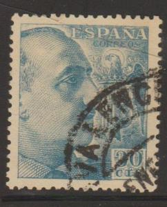 Spain Sc#695a Used
