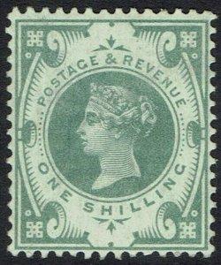 GREAT BRITAIN 1887 QV JUBILEE 1/-
