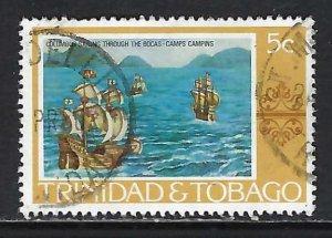 TRINIDAD & TOBAGO 262 VFU COLUMBUS H1246-8