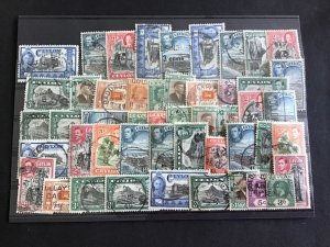 Ceylon Vintage Stamps  R38899