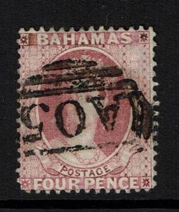 Bahamas SG# 43, Used, Hinge Remnant  - Lot 111516