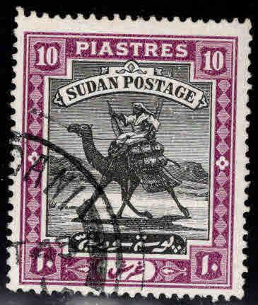 SUDAN Scott 49 Used Camel mail stamp