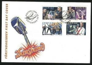 Sweden FDC Cachet  1999. Dance Bands. Engraver  Slania, Morck, Sjooblom,Naszarko