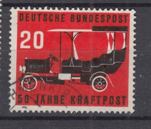 J28701, 1955 germany set of 1 used #728 old car