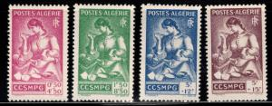 ALGERIA Scott B39-B42 MNH** semi-postal stamp set 1943