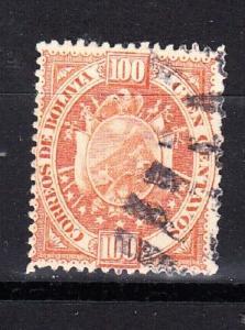 Bolivia Scott 46 Used (Catalog Value $40.00)