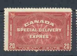 Canada Sc E4 1930 20c Special Delivery stamp mint