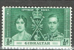 Gibraltar SC# 104 *Mint H*
