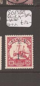 British Cameroon SG B3e MNH, Black Sign Bothe (10cdr)