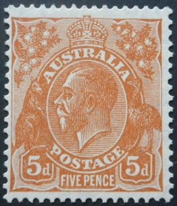 Australia 1932 GV Five Pence (C of A watermark) SG 130 mint