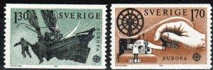 Sweden #1278-9 MNH  CV $4.50 (X1748)