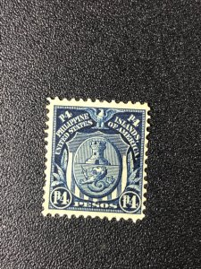 US Possessions Philippines Scott 253 4p Arms Stamp 1906 Issue
