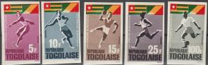 Togo #525-8, C46 MNH F-VF Imperf (SU6512)