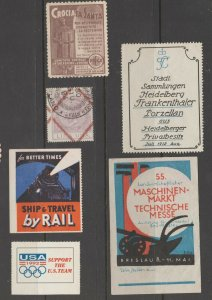 Poster stamps and? tax revenue cinderella fiscal stamp 4-11-30